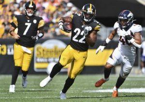 Najee Harris, Steelers vs Broncos