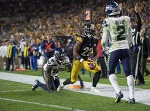 Najee Harris, Steelers vs Seahawks