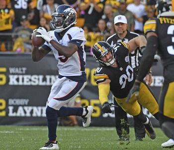 T.J. Watt, Teddy Bridgewater, Steelers vs Broncos